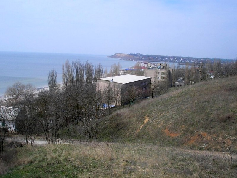 Land area 1,5 ha by the sea in the area of Koblevo