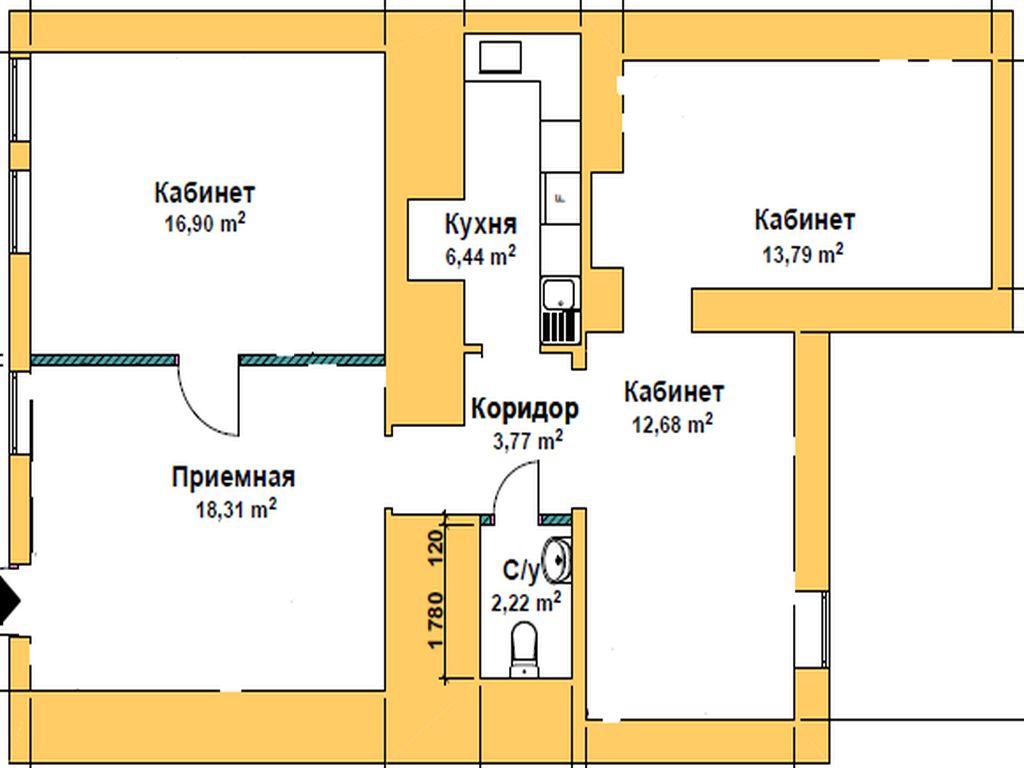 Помещение в тихом центре на ул. Асташкина, 15